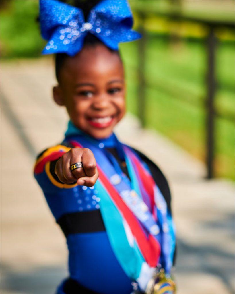 Award Winning Cheerleader Photography